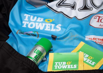 Tub O' Towels racing jersey